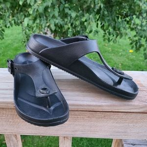 Maurices Black Sandals